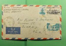 DR WHO 1952 LEBANON SAIDA AIRMAIL TO USA  f65241