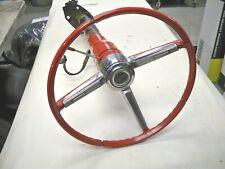 1967 Chevrolet Chevelle Steering Wheel and Non Tilt Floor Shift Steering Column
