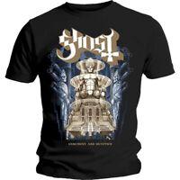 Official Licensed Merch Heavy Metal Men's T-SHIRT Top GHOST Ceremony & Devotion