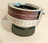 VIVITAR Auto 2X TELE-CONVERTER Model 2X-5 for (Konica) Minolta MC Mount JAPAN
