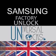 UNLOCKING SERVICE SAMSUNG GALAXY S8 S8+ Note 4 5 7 8 VODAFONE UK UNLOCK CODE