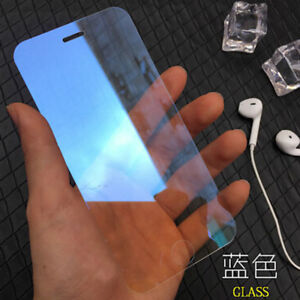 For iPhone 8 3D Mirror Effect Clear 9H Tempered Glass Screen Protector Films