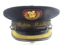 Vintage British Rail Station Masters Cap / Railwayana