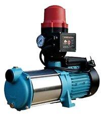 Wasserpumpe 100l/min 1300W Jetpumpe Gartenpumpe MHI 1300 INOX mit BRIO Schalter.
