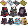 1Yard African Wax Printed Fabric Floral Cloth DIY Dress Clothing Material Decor