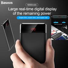 BASEUS 10000mah Digital LED Power Bank Portable External Battery 2usb Charger AU