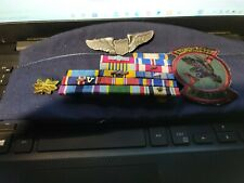 USAF 14-RIBBON ON  RACK -WINGS -MAJOR GARRISON CAP--PATCH --SEE STORE MEDALS