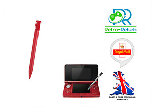 Stylus Pen For Nintendo 3DS Red Touch Pen - Fast Free Post