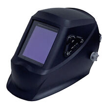 """990T-BLK 4-Sensor Auto Darking Welding Helmet #5-#13 Shade 3.94""""X3.86"""" View Area"""