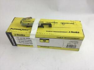 "Platinum Tools JH12W-25 Batwing J Hook 3/4"" Box of 25"