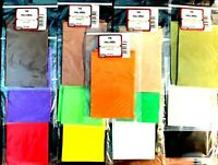 Wapsi Thin Foam Fly Fishing Tying Material ( One Package )