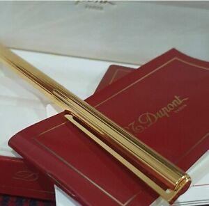 ST. Dupont Vintage (1996) Gold 24k/ slim Ballpoint Pen New