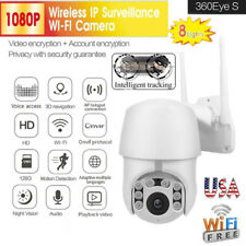 New 1080P WiFi IP IR Camera Wireless Outdoor CCTV PTZ HD Cam Infrared Cameras US