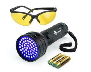51 LEDs UV Blacklight Flashlights Detector Dry Pets Urine Stains & Bed Bug LED14