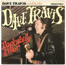 "DAVE TRAVIS - Rockabilly Killer - 1981 France 25 cm / 10"""