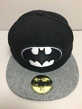"""ERA Batman"""" 59 cincuenta NEW """"Gorro Gorra de béisbol - 7 1/2 59.6 Cm L Herringbone Visera"""