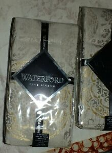 WATERFORD CONCORD SET OF 4 NAPKINS  NEW IN PACKAGE
