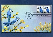 Sc #2483 20c Blue Jay Jeanne Horak Hand Drawn & HP Cachets First Day Cover