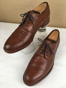 COACH Andrew Derby Size 11D Brown Leather Men's Dress Shoe Nice! Soft