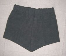 Vintage Jersey Shorts - Age 3-4 Years - Approx - Charcoal Grey - New