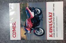 Clymer Kawasaki EX500 GPZ500 Ninja Service Manual