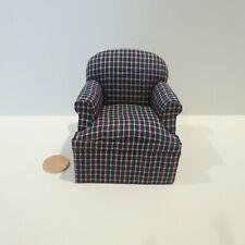 Dollhouse Miniatures Artisan OOAK Unicorn Easy Chair