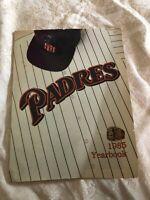 1985 San Diego Padres Yearbook-Tony Gwynn