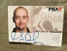 2007 PBA Bowling Autograph Ritchie Allen