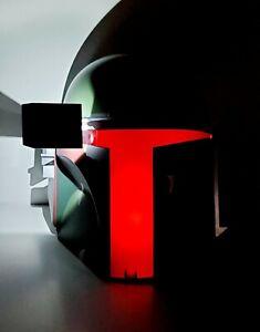 Disney Star Wars BOBA FETT Helmet Kids 3D Deco Light Up Nightlight
