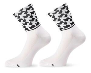 Assos Monogram Socks Evo8 (Holy White)