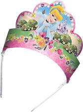 Disney Princess Birthday Party Supplies - Princess Tiaras (Pack of 12) Pink