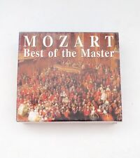Mozart Best Of The Master 4 CD Box Set 1996
