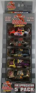 Racing Champions 1/64 1999 NASCAR 5 Car Fan Appreciation Pack