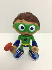 """Super Why Wyatt Action Figure 6"""" Doll Spinning Wand PBS Kids 2009"""