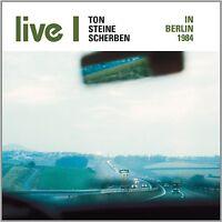TON STEINE SCHERBEN - LIVE I-IN BERLIN 1984  CD NEU