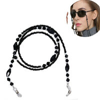 Beads Beaded Eyeglass Cord Reading Glasses Eyewear Spectacles Chain Holder YN