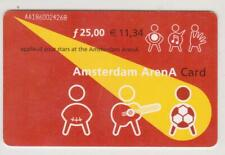 Amsterdam Arena Card 2001 Applaud your stars at the Amsterdam ArenA AA1860024268
