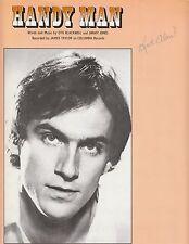 Handy Man - James Taylor - 1977 Sheet Music