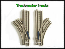 Thomas  the Tank engine TRACKMASTER junction 1 into 2 lines track {one pair]