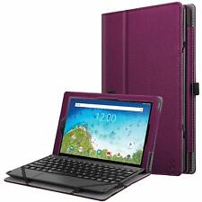 For RCA 10 Viking Pro 10.1 Inch RCT6A03W13 Folio Case Stand Cover+Pencil Holder