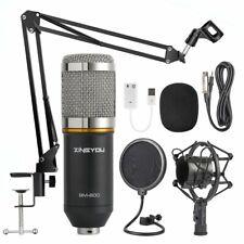 Studio Recording Microphone Voice Professional Condenser Arm Stand Bm-800 Kit
