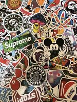 Lot of 30 New Random Skateboard Laptop Luggage Decals Dope Stickers