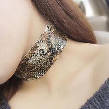 Leather Punk Choker Fashion Necklaces & Pendants