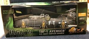 The Ultimate Soldier XD TBF-1 Avenger US Navy Torpedo Bomber 1/18 No 10181