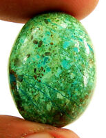 24.05 Ct Natural Green Chrysocolla Loose Gemstone Cabochon Cab Stone - 26093