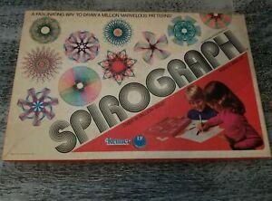 Vintage 1970's Retro 1976 SPIROGRAPH Art Set Kenner General Mills 1421 in Box