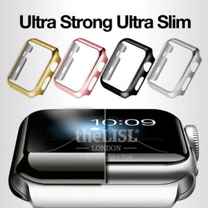 Apple Watch iWatch Series 6 5 4 3 2 1 Cover Case Screen Protector 38 40 42 44mm
