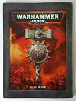 WARHAMMER 40,000 40K Rulebook Great Resource Rules Mini Soft Cover V.GOOD COND