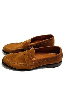 Alden Snuff Suede X Unionmade Loafers Men's Size 11.5 B/D 62437