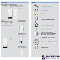 Buderus GB172 Gas Brennwert Komplettpaket W22 mit 24 kW und S120 Speicher